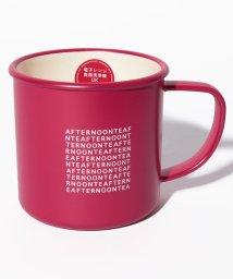 Afternoon Tea LIVING/ロゴ柄樹脂マグカップ/501349510