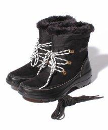 INTER-CHAUSSURES IMPORT/【MINNETONKA】カウスエードレースアップ防水加工ブーツ/501372761