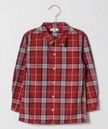 koe kids/エシカルシルク混オープンネックシャツ/501374958