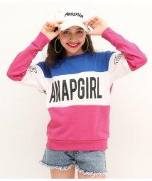 ANAP GiRL/切替プリントトップス/501380766