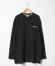 MARUKAWA/【COSBY】コスビー 大きいサイズ 長袖Tシャツ 無地ワンポイント刺繍/501368679