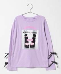 Lovetoxic/MJガールリボンTシャツ/501372568