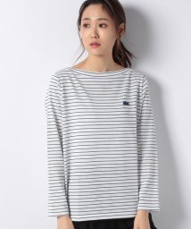 LACOSTE/マリンボーダーカットソー/501375146