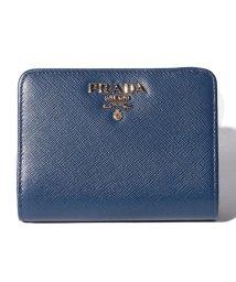 PRADA/【PRADA】2つ折り財布/SAFFIANOMETAL ORO【BLUETTE】/501367874