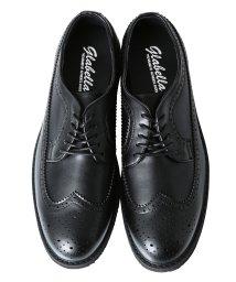 JIGGYS SHOP/ウイングチップシューズ / ウイングチップ 靴 メンズ エナメル スムース オックスフォード シューズ/501382238
