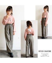 RiCO SUCRE/チェックワイドパンツ/501382689
