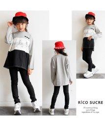 RiCO SUCRE/メッシュロゴロングTシャツ/501382691