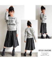 RiCO SUCRE/袖ロゴテープトレーナー/501382694