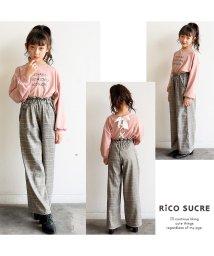RiCO SUCRE/パフスリーブVネックカットソー/501382695