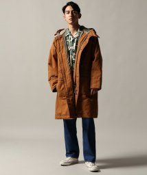 J.S Homestead/C/N TWILL PATTED PARKA/501383078