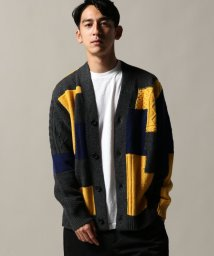 JOURNAL STANDARD/COUNTRY OF ORIGIN × JS / カントリーオブオリジン : PATCHWORK CABLE カーデ/501383091