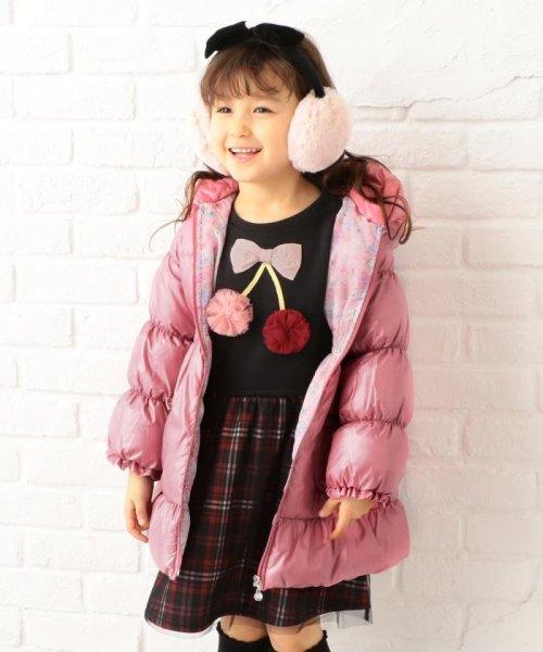 anyFAM(KIDS)(エニファム(キッズ))/【KIDS】ポリエステルシレー/ポリエスエルタフタプリント コート/SCFKYW0441