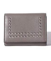 J&M DAVIDSON/【J&MDAVIDSON】SMALL FOLDED WALLET WITH STUDS/501240035