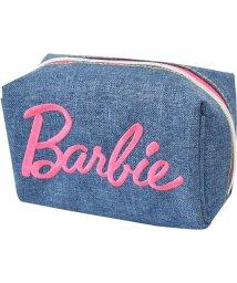 RUNNER/Barbie バービー デニム 刺繍 ロゴ 2ルーム & ミニ ポーチ/501315477