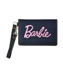 RUNNER/Barbie バービー デニム 刺繍 ロゴ リール付き パスケース/501315480