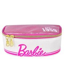 RUNNER/Barbie バービー ロゴ ライン フルオープン&Wジッパー ポーチ/501315485