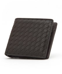VANQUISH/ラム革編込み二つ折り財布/501368141