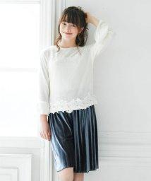Little Princess/子供服ガウチョAILES202576 160cm グレー/501370775
