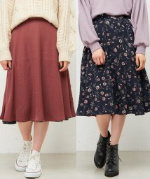 NICE CLAUP OUTLET/【natural couture】Newリバーシブルスカート/501372856