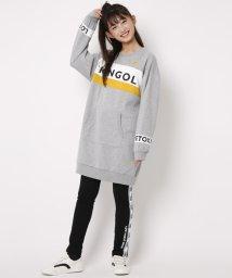Lovetoxic/KANGOLコラボ裏毛ワンピース/501378899