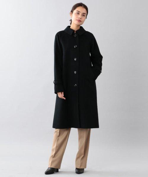 SANYO COAT(サンヨーコート)/<Rain Wool>ウールカシミヤバルマカーンコート/T1B10834--
