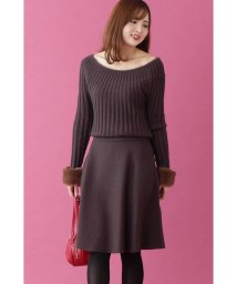PROPORTION BODY DRESSING/フェザーアークニットセットアップワンピース/501383358