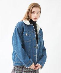 titivate/裏ボアGジャン/デニムジャケット/501383573