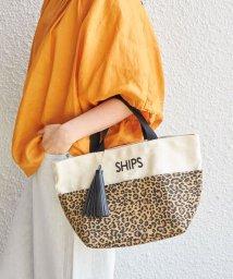 SHIPS WOMEN/一部追加《予約》ポケットトートバッグ/500249625