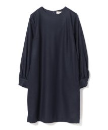 BEAMS OUTLET/Demi-Luxe BEAMS / クルーネック ウール ワンピース/501350832
