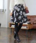 PROPORTION BODY DRESSING/★【MAGASEEK/d fashion限定】マトラッセフラワーフレアスカート/501386877