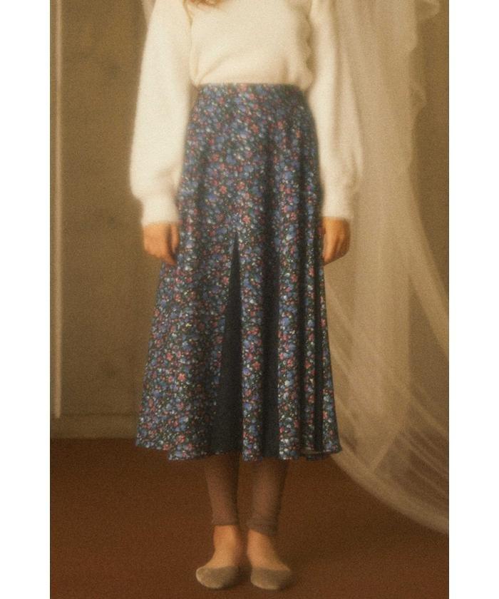 PROPORTION BODY DRESSING チュールドッキングミニフラワースカート