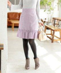 PROPORTION BODY DRESSING/★ファンシーツィードタイトスカート/501386883