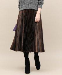 ROPE' mademoiselle/ラメプリーツスカート/501389257