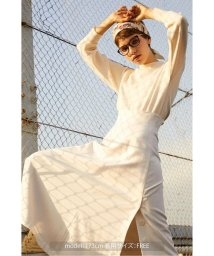 PROPORTION BODY DRESSING/《BLANCHIC》バックディティールニット/501386890