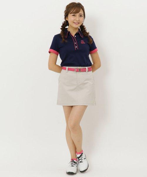 Samantha Thavasa UNDER25&NO.7(サマンサタバサアンダー)/コンパクトストレッチバックロゴスカート/00761822200103
