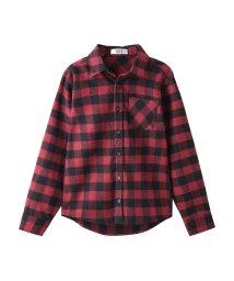 MAC HOUSE(kid's)/RUSH HOUR ビエラ起毛先染めチェックシャツ MH687-600/501390937