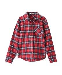 MAC HOUSE(kid's)/RUSH HOUR ビエラ起毛先染めチェックシャツ MH687-600B/501390938