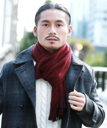 JIGGYS SHOP/日本製リバーシブルマフラー / マフラー メンズ ユニセックス レディース ペア カップル ストライプ/501391969