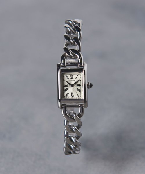 UNITED ARROWS(ユナイテッドアローズ)/UBCB スクエア メタル チェーン 腕時計†/17436990831