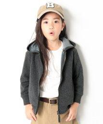 devirock/【nina's11月号掲載】まるで着る毛布 裏シャギージップアップパーカー ジップパーカー 裏起毛/501392375