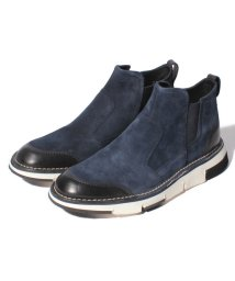 LANVIN en Bleu(mens shoes)/サイドゴアブーツ/501365745