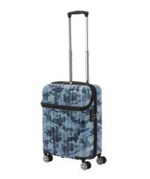 Travel Selection/スーツケース トップオープン トップス S 迷彩 機内持ち込み対応サイズ/501365892