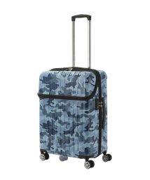 Travel Selection/スーツケース トップオープン トップス M 迷彩/501365895