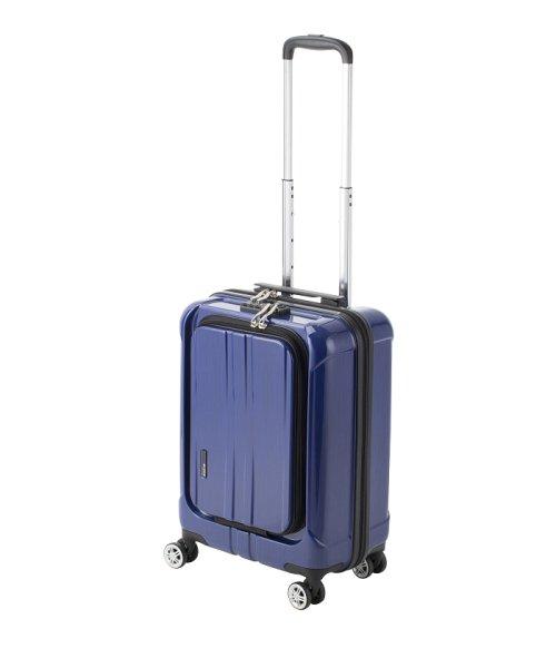 Travel Selection(トラベルセレクション)/スーツケース フロントオープン ポライト S 機内持ち込み対応サイズ/7420342
