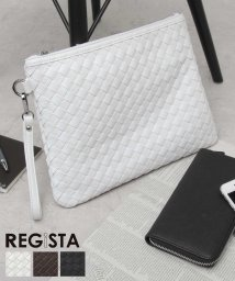 REGiSTA/イントレチャートPUレザークラッチバッグ/501390992