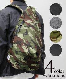 REGiSTA/トライアングル口折れバックパック/三角リュック/501391019