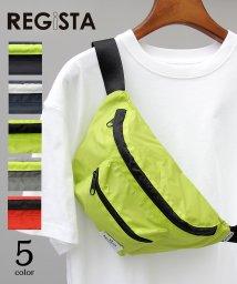REGiSTA/PVCナイロンウエストポーチ/ボディバッグ/501391069
