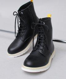 glabella/ホワイトソール8ホールブーツ/編み上げブーツ/501391179