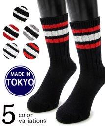 Mr.COVER/【MADE IN TOKYO】日本製スケーターラインソックス/501391229