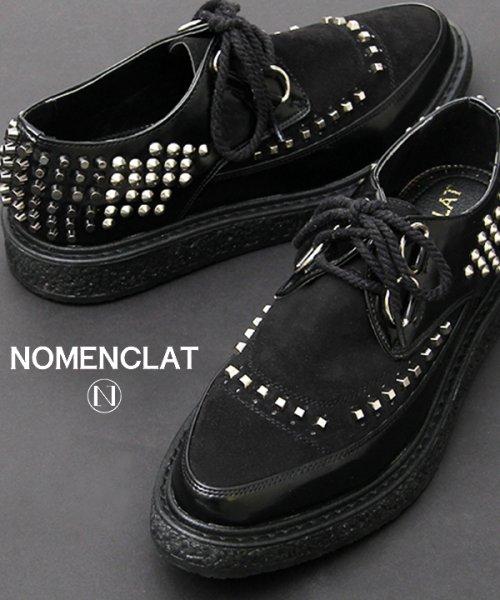 NOMENCLAT(ノーメンクラート)/グラデーションスタッズクリーパーズ/NCT-1008
